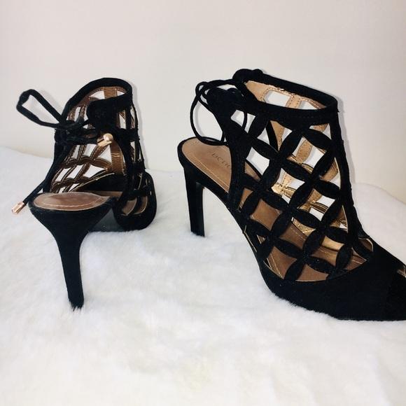 BCBGeneration black sandal heels